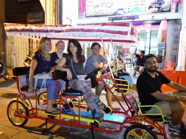Rikscha Ride, George Town, Penang, Malaysia