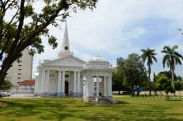 St. George's Church, George Town, UNESCO World Heritage Site, Penang, Malaysia