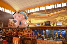 Sleeping Buddha, Wat Chaiya Mangkalaram, George Town, Penang, Malaysia