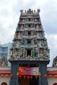 Indian Temple, Chinatown, Singapore