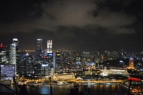 Skyline by night, Singapore