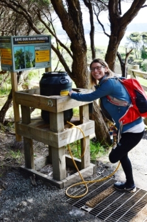 Sigrid at Tawharanui Regional Park