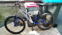 Auckland City - my Bike